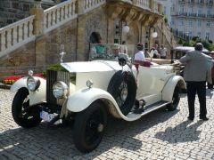 Jízda v automobilu Rolls Royce