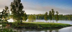 Lekce golfu na Dýšině